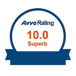 AVVO 10 Rating Seal